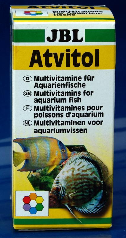 J b l atvitol vitamines multivitamines pour poissons for Aquarium vpc